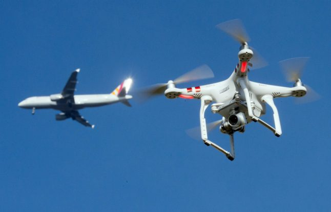 'A considerable risk': Germany plans to protect its airports from drones