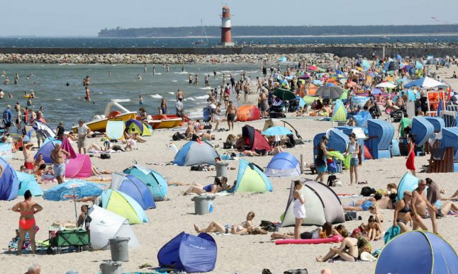 Vibrio bacteria: What bathers at one of Germany's most popular holiday spots need to know