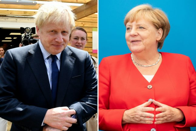 Merkel and Johnson to face off in Berlin in first Brexit talks