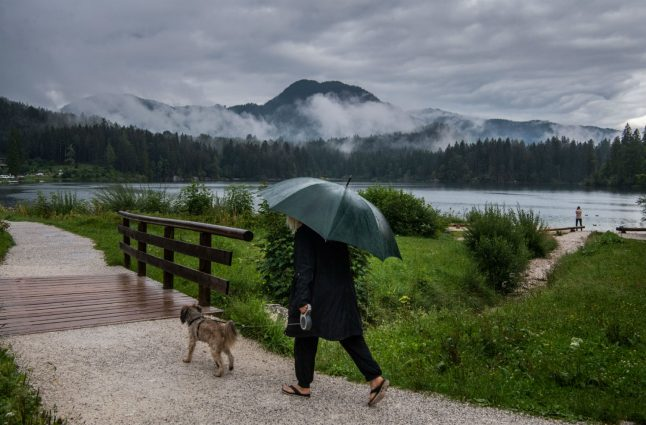 Clouds, rain and thunder: Is summer in Germany over?