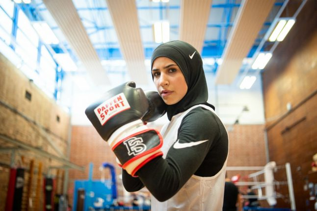 Germany's female Muslim boxer dreaming of glory: 'It's always been clear I'd fight with a headscarf'