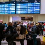 Fierce storm causes travel chaos in Germany