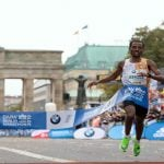 Berlin marathon winner misses world record by two seconds
