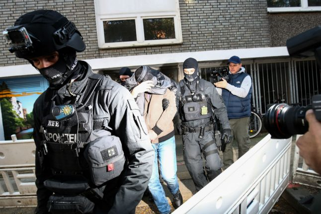 Homes raided in northern Germany over suspected links to terrorism