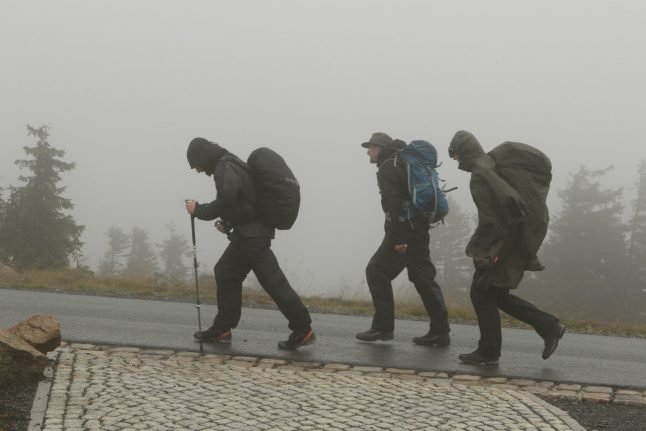Torrential rain and high winds continue as storms hit Germany