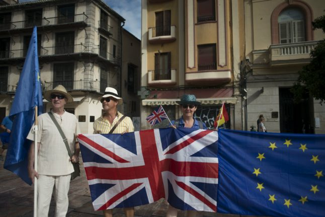 Number of Britons who move to EU at highest level in a decade