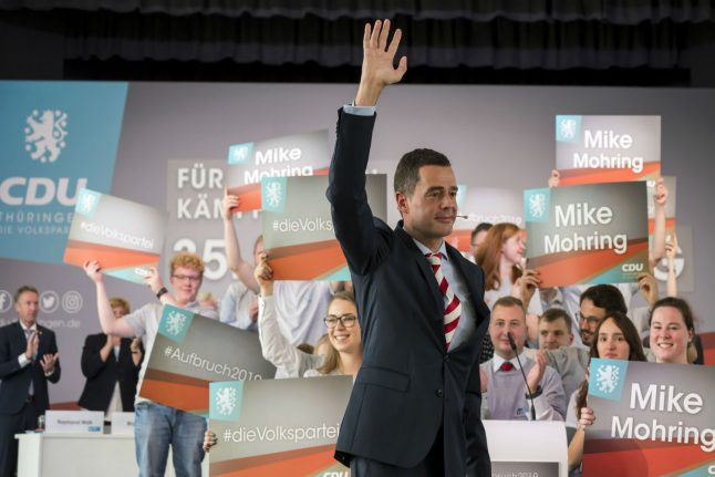 CDU state election candidate receives second 'far-right' death threat
