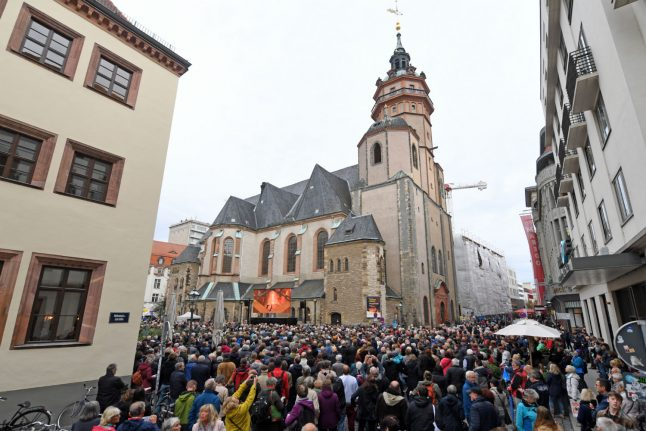 How a Leipzig church led to the fall of the Berlin Wall