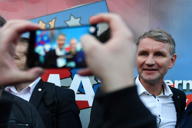 AfD surges to second place in Thuringia state elections