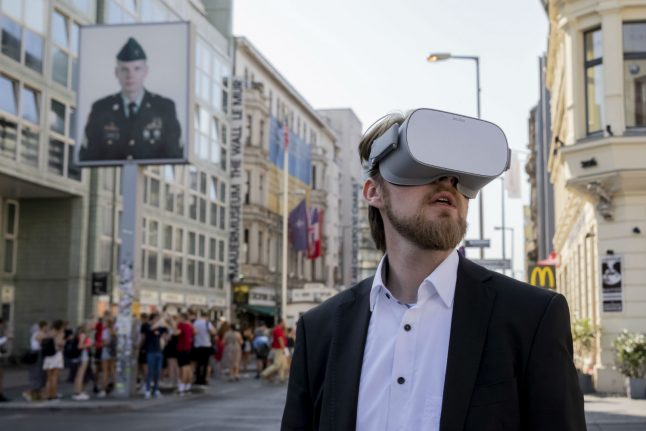 30 years on, Berlin Wall comes back to life with virtual reality
