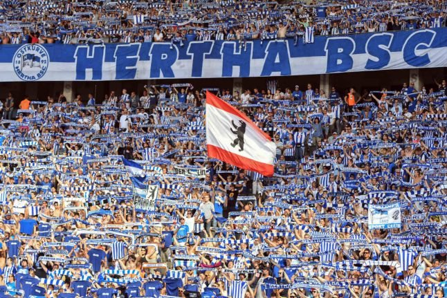 Berlin's rival clubs set to meet for first Bundesliga derby since fall of wall