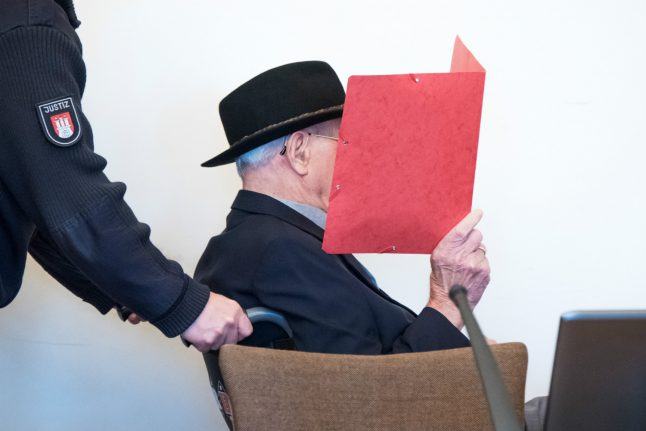 Update: Former Nazi concentration camp guard, 93, 'sorry for what he did', German court hears