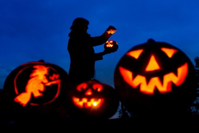 How is Halloween celebrated in Germany?
