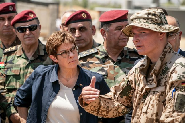 German government divided over call for Syria peacekeeping force