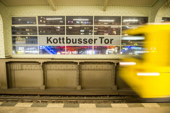 Man dies at Berlin U-Bahn station after being pushed in front of oncoming train
