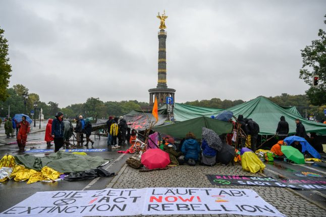 Extinction Rebellion Germany distances itself from founder after Holocaust comment