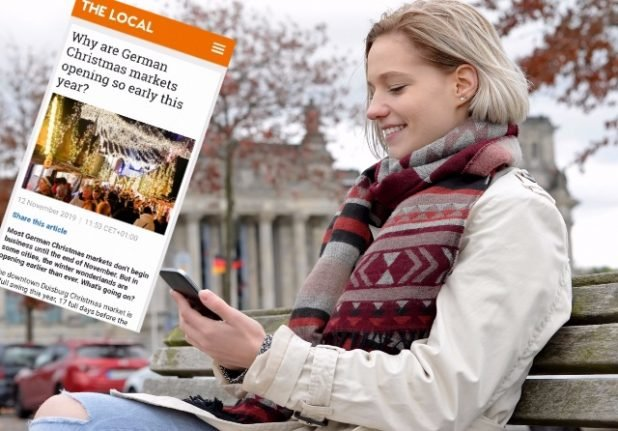 ALERT: Read all our articles on Germany via The Local's smartphone apps