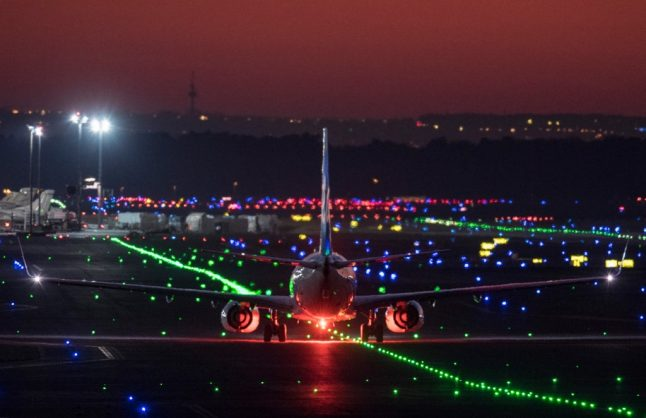 Two planes in 'minor' collision at Frankfurt airport