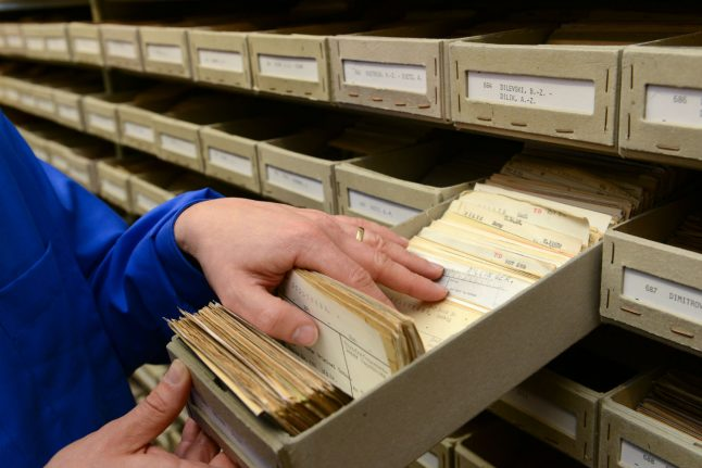 German archive puts 850,000 documents on Nazi victims online