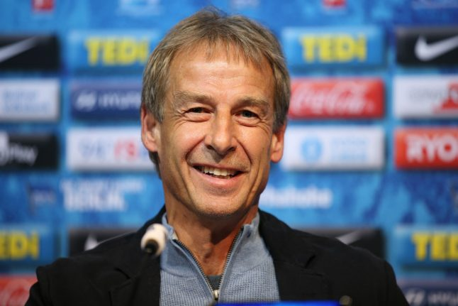 Klinsmann heads to Hertha Berlin and keeps the family link alive