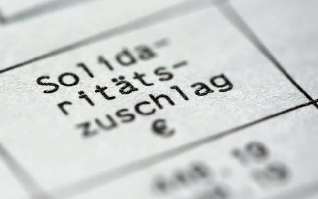 Taxpayers in Germany to receive boost as 'solidarity tax' almost entirely abolished