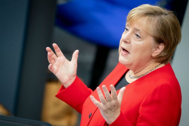 German role in NATO more vital now than 'during Cold War', says Merkel