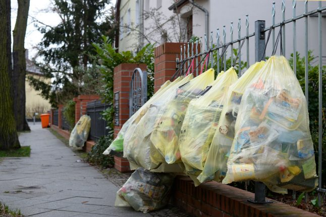 Germans produce more packaging waste than ever before