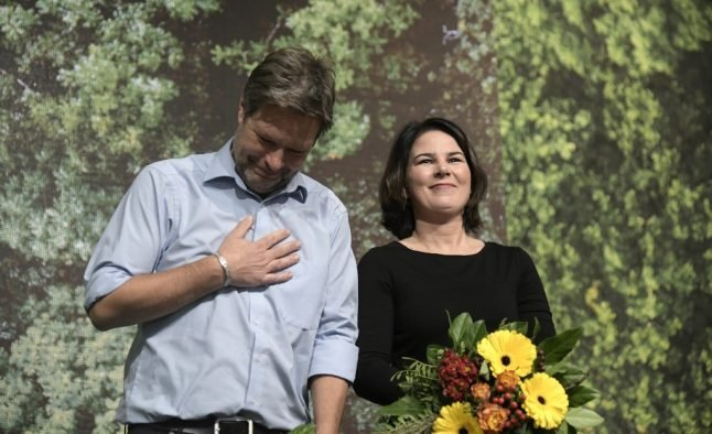 Germany's Greens re-elect leadership duo after electoral wins