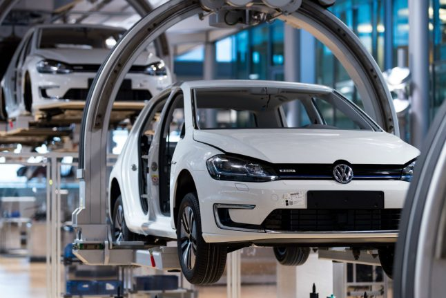 Volkswagen to spend €60 billion to transition to electric cars