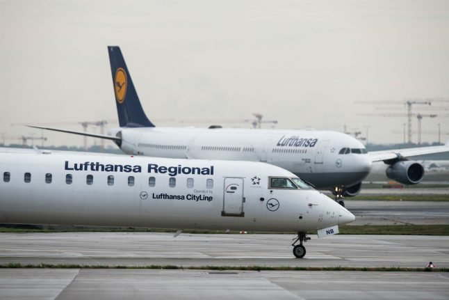 Lufthansa to cancel 1,300 flights in Germany over two-day cabin crew strike