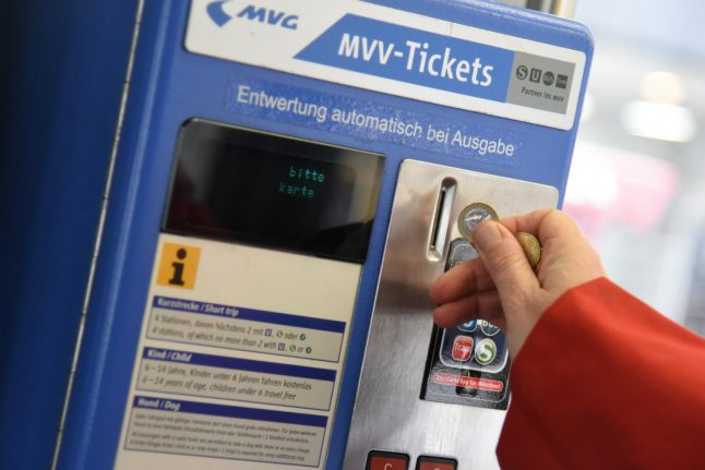 Munich to offer pupils and trainees €1 per day public transport ticket