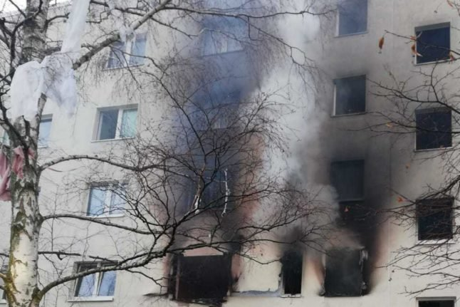 UPDATE: One person killed, 11 injured in explosion at German housing block