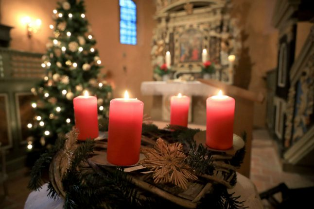 What's the history behind Germany's Christmas traditions?