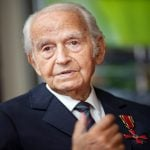 How a 98-year-old Auschwitz survivor is paying his 'duty to the dead'