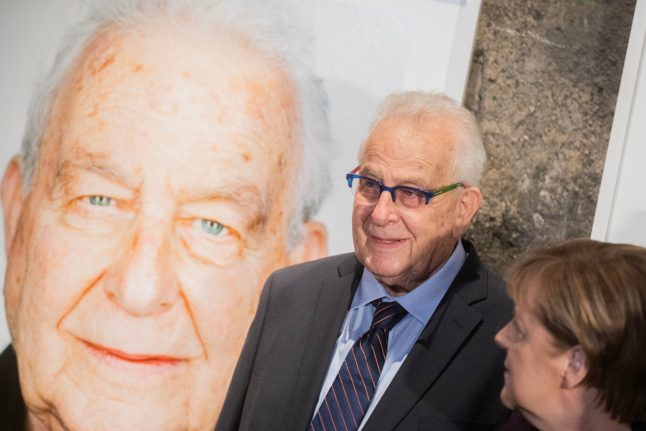 'I've lived 81 years in the shadow of the Shoah': Holocaust survivor flown back to Germany for exhibition