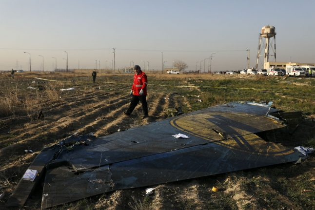 Three Germans on board Ukranian plane that crashed in Iran: reports