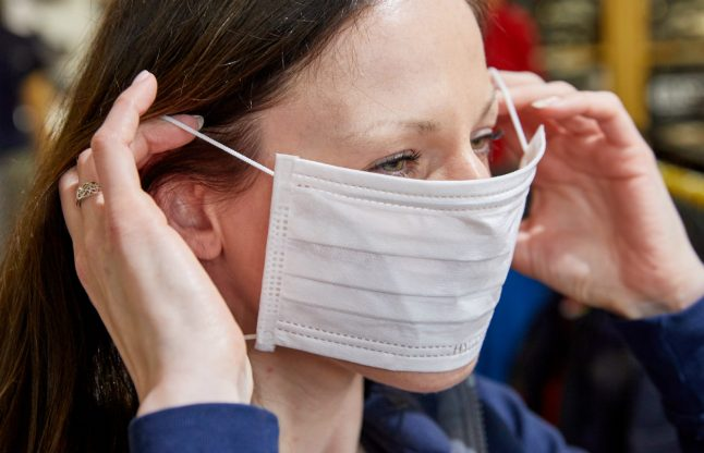 Coronavirus: Demand for face masks in Germany jumps – but do they actually work?