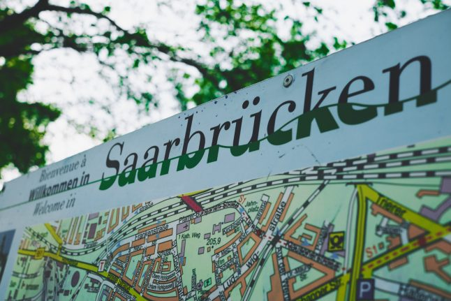 Five maps that explain Saarland, Germany's 100-year old state