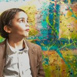 Seven-year-old 'mini-Picasso' shakes up German art world