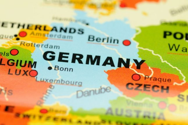 The 12 maps that help explain Germany today