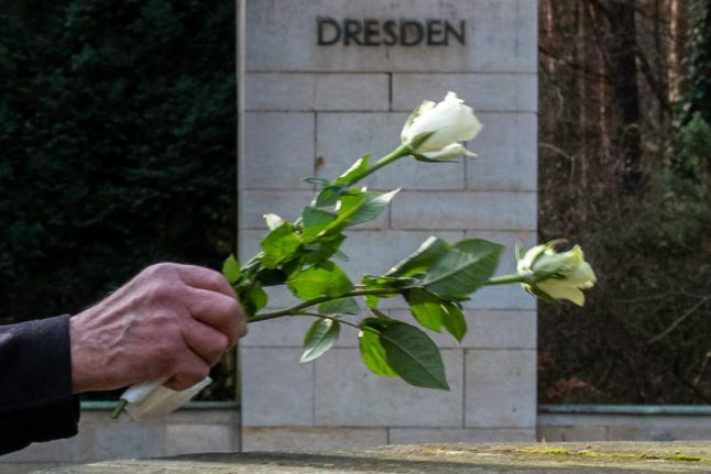 Germans urged to 'defend democracy' 75 years after Dresden WWII bombing