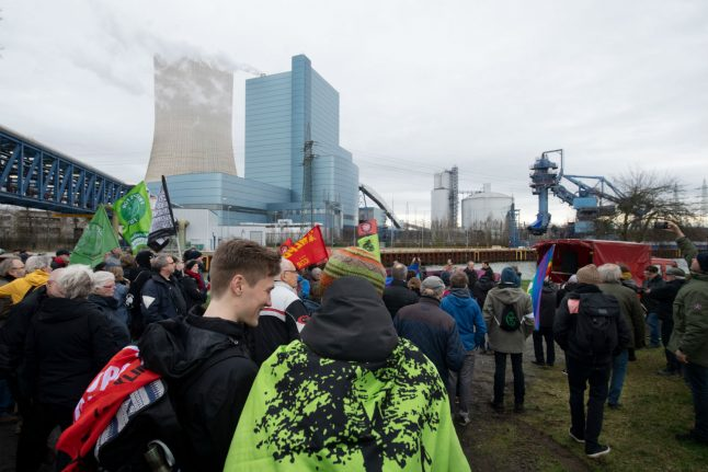 Coal phase out: Climate activists occupy disputed German plant