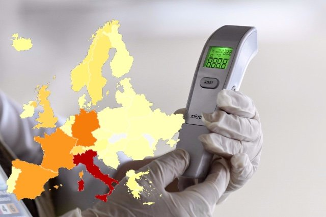How the spread of coronavirus in Germany compares with the rest of Europe