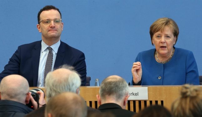 Merkel warns Germany 'up to 70 percent of country could become infected'