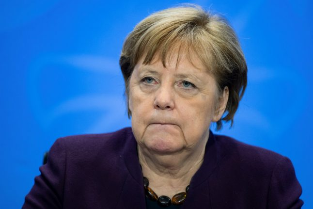 Merkel calls for social contact 'to be avoided where possible'