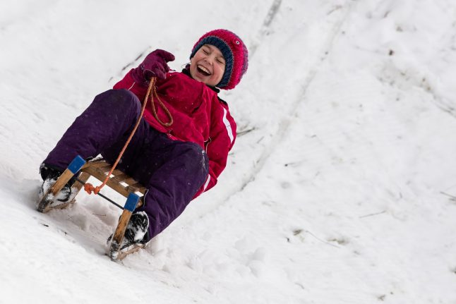 'You can't build igloos': German children on growing up without snow