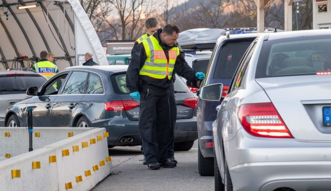 Drivers turned back as Germany partially closes borders to fight coronavirus