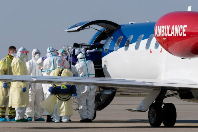 Germany to cover costs of coronavirus patients flown in from EU countries