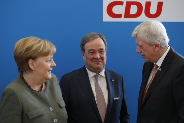 Race to succeed Merkel continues in the shadows of Germany's coronavirus battle