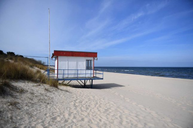Coronavirus: Battle breaks out as beach visits allowed in northern Germany